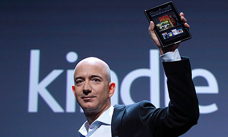 Jeff Bezos Unveils the Kindle Fire